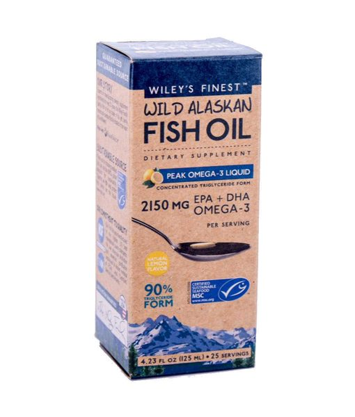 Wileys Finest Peak Omega-3 Liquid Right