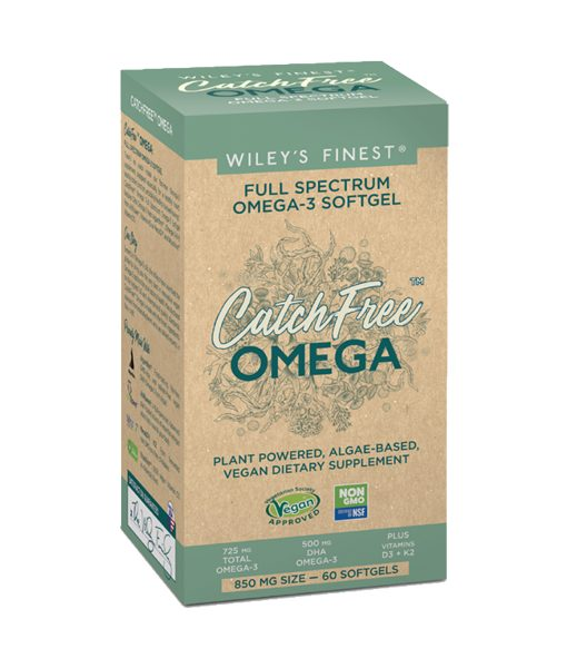 Wileys Finest Catch Free Omega-3 Supplement Softgels Centre
