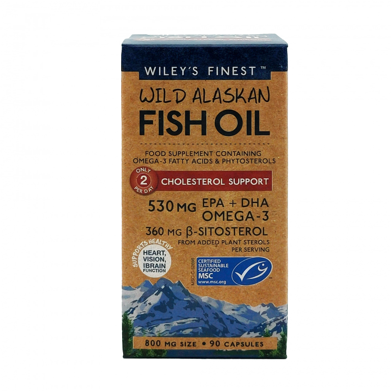 Wiley's Finest Cholesterol-Support-90-Softgels