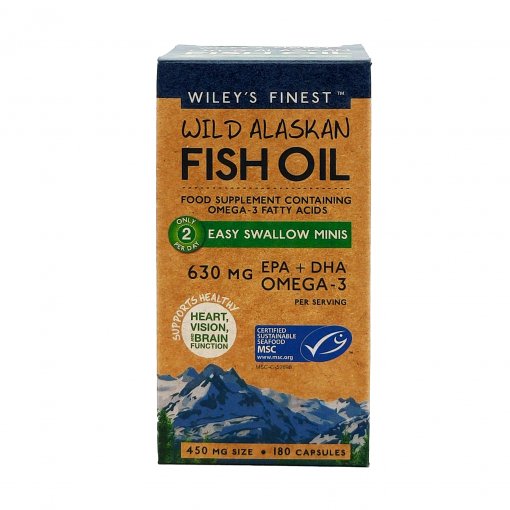 Wiley's Finest Easy-Swallow-Minis-180-Softgels