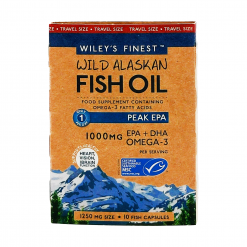 Wiley's Finest Peak-EPA-10-Softgels-Travel-Size