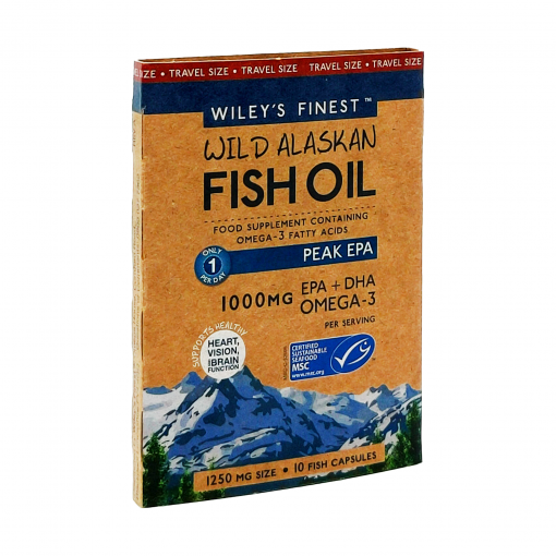 Wiley's Finest Peak-EPA-10-Softgels-Travel-Size