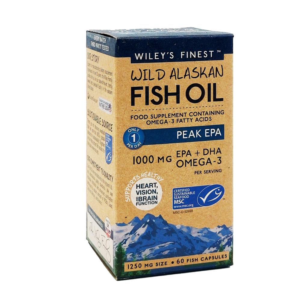 Wiley's Finest Peak-EPA-60-Softgels