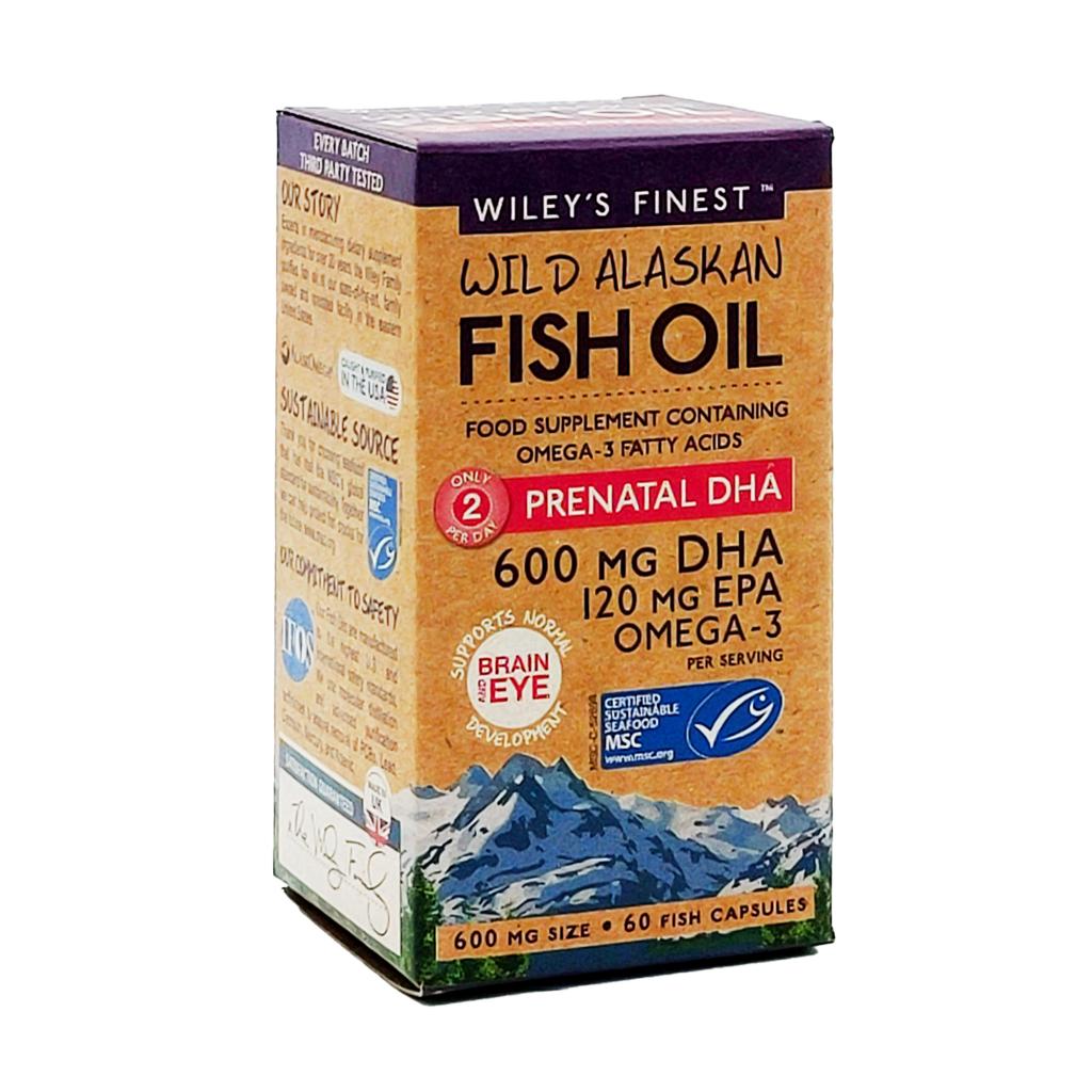 Wiley's Finest Prenatal-60-Softgels