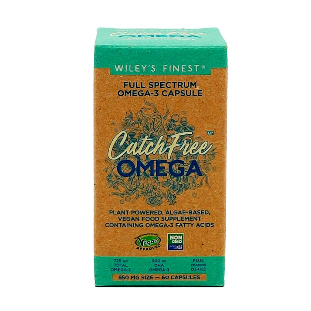 Wiley's Finest Vegan-CatchFree-Omega-3-60-Softgels