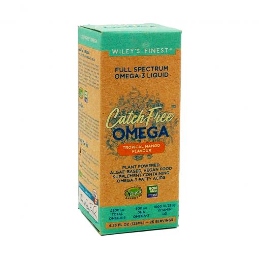 Wiley's Finest Vegan-CatchFree-Omega-3-Liquid-25-Servings