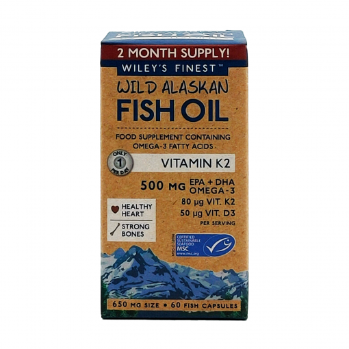 Wiley's Finest Vitamin-K2-60-Softgels